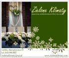 dekoracje ślubne, wiązanki ślubne, zieloneklimaty.pl