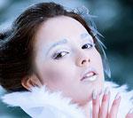 Panna Młoda inspirowana Królową Śniegu - sesja zdjęciowa