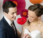 Walentynkowy ślub - inspiracje na Święto Zakochanych - sesja zdjęciowa