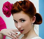 Panna Młoda w stylu pin up girl - sesja zdjęciowa
