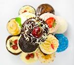 Słodycze na wesele: Miłość zaklęta w cupcakes