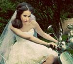 Trendy w modzie ślubnej 2013