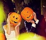 Halloween: pomysł na ślubną sesję zdjęciową